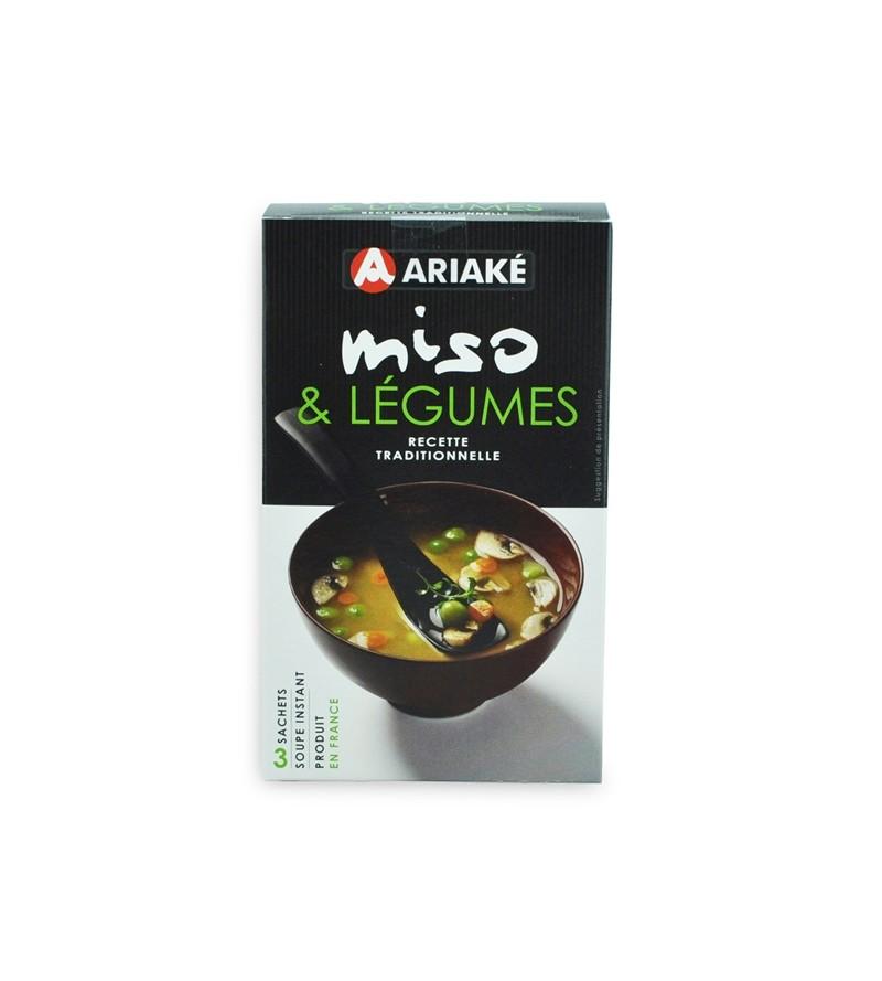 Soupe Miso & Légumes